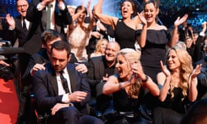 Danny Dyer wins the award for Best Serial Drama Performance.