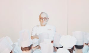 Pierre Koffman in 2016: 'Look at all those who have gone through his kitchen – Marco Pierre White, Gordon Ramsay, Marcus Wareing, to name just three.'
