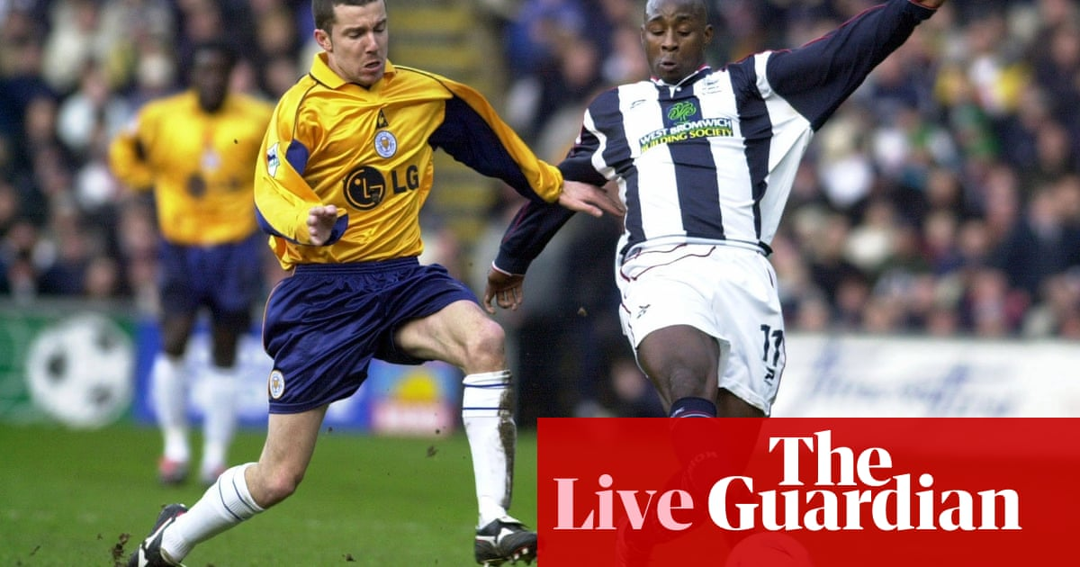 West Brom v Leicester: Premier League – live!