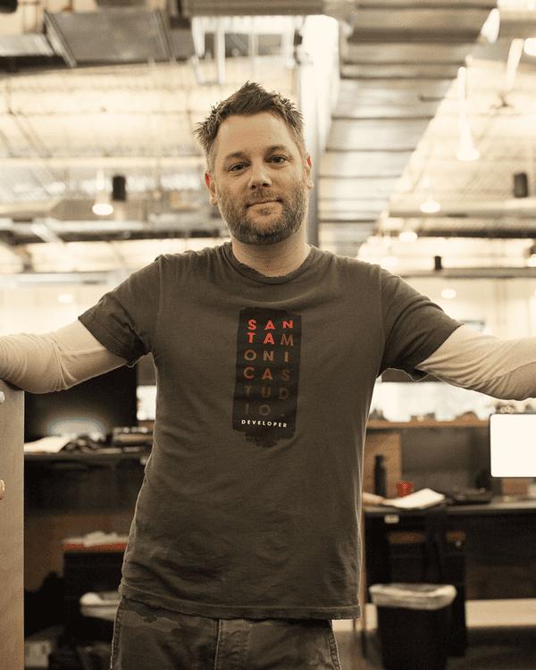 Cory Barlog, creative director on God of War for Sony Santa Monica.