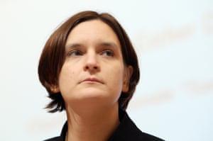 French Esther Duflo, professor of Economics at MIT University.