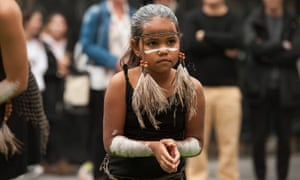 Ngarrunga girl at the Family Matters Aboriginal and Torres Strait Islander Children's Day celebrations on Kaurna Country (Adelaide)