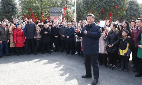 'You are our lucky star': Chinese media in overdrive on Xi Jinping's New Year tour