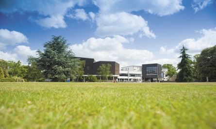 The Quad at the University of Reading's Whiteknights campus.