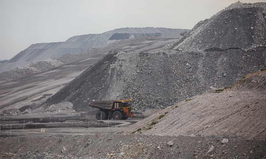 File photo of a coalmine in the Upper Hunter Valley, Australia