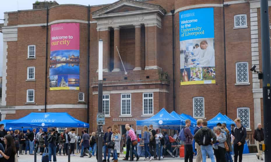A University of Liverpool open day.