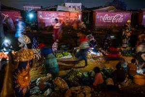 Night market in Mzuzu