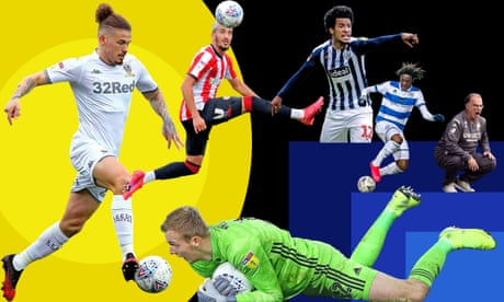 Who makes our Football League teams of the season for 2019-20?