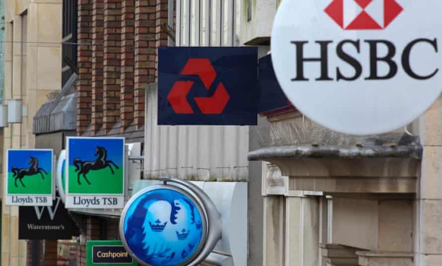 Banks on high street