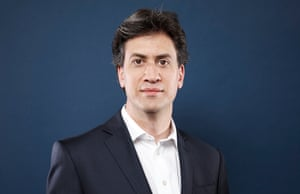 Ed Miliband in his office at Portcullis House.