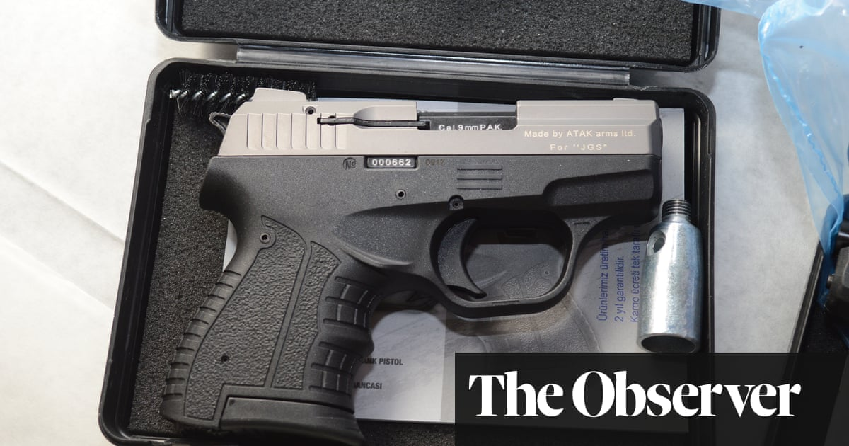 From a Czech warehouse to a street near you: the journey of a gun