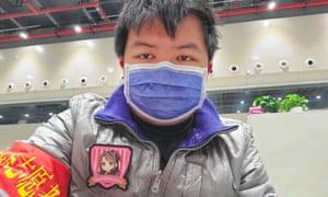 Tiger Ye, who contracted the coronavirus in Wuhan