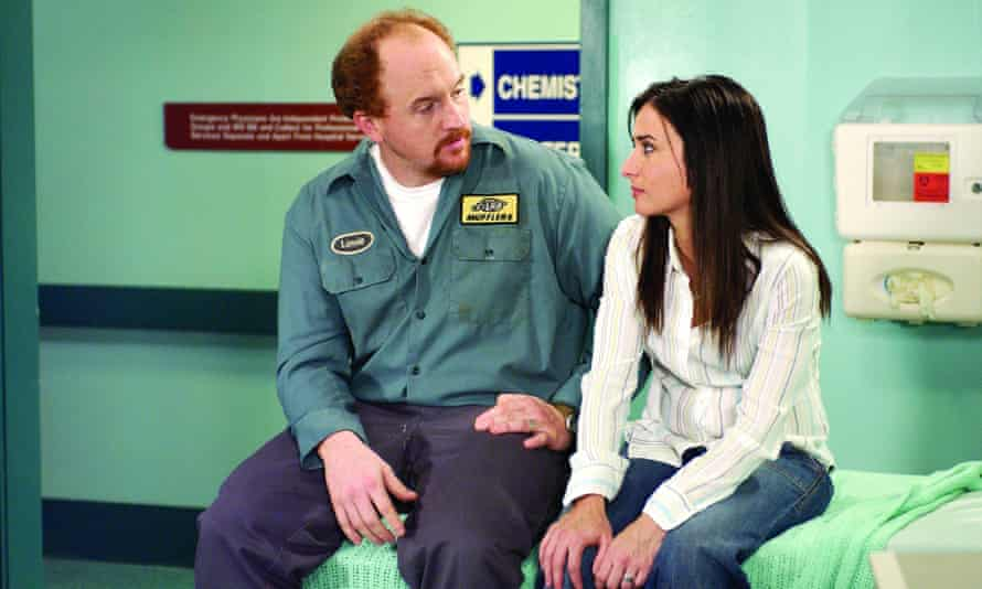 'Louis and I used to talk about revisiting Lucky Louie, so anything's possible' … Louis CK and Adlon in Lucky Louie.