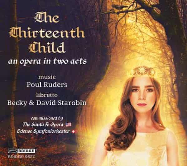 The Thirteenth Child by Poul Ruders: album artwork.