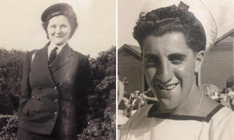 """'He told me he's going to marry me the first time he met me. And I said, """"Please, marriage? [I'm] 17? Go away."""" ' Stella and Cecil Renfield met in 1944."""