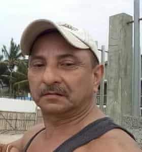 Reynaldo Barrezueta, 57, died on Monday morning at his home in the crisis-stricken Ecuadorian city of Guayaquil
