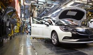 Vauxhall Ellesmere Port Astra Sports Tourer-Production