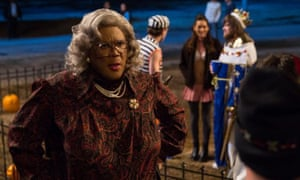 'Shot with the production values of a television sitcom' ... Tyler Perry in Tyler Perry's Boo! A Madea Halloween.