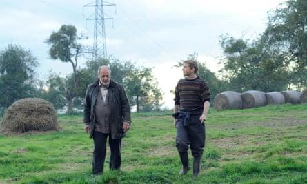An unforgiving landscape … David Troughton, left, and Jack Holden in The Levelling
