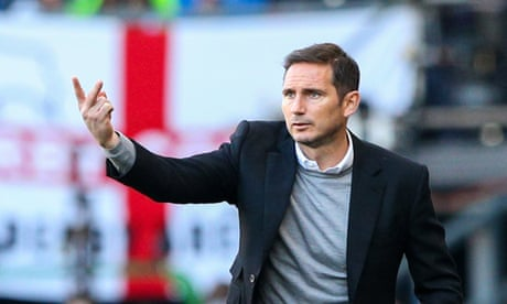 Frank Lampard tells Derby to rise to play-off pressure and sink Leeds
