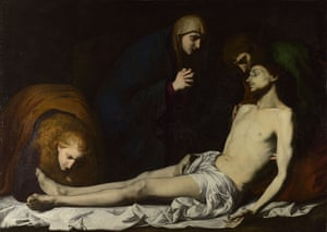 The Lamentation over the Dead Christ, early 1620s, Jusepe de Ribera.