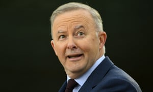 Labor leader Anthony Albanese.