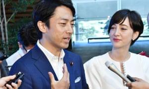 Shinjiro Koizumi and Christel Takigawa