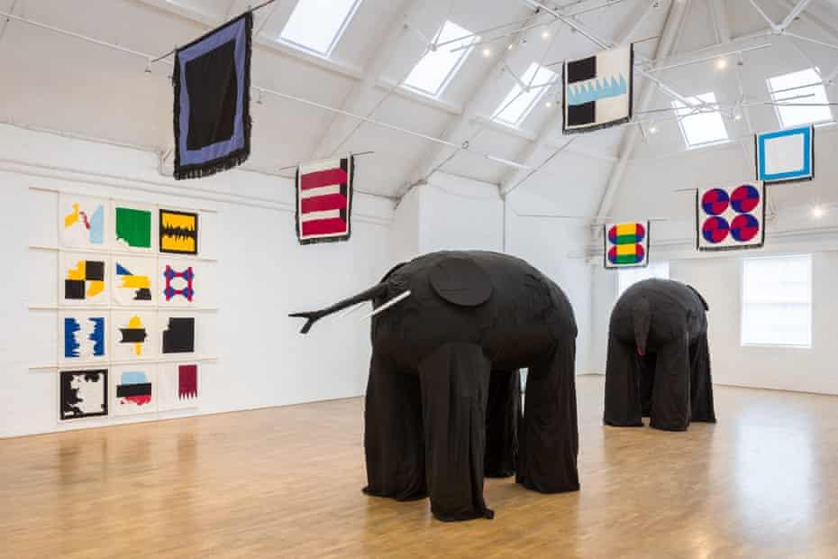 Samson Kambalu's New Liberia at Modern Art Oxford.