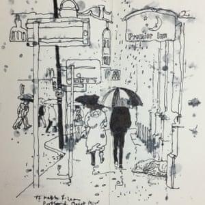 Drawings from the Instagram feed of artist John Hewitt