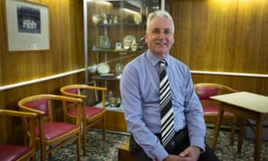Paul Leary has been Marine's chairman since 2004 having also served as the club's treasurer and vice chairman