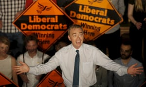 Leader of the Liberal Democrat party, Tim Farron, delivers his first speech as leader