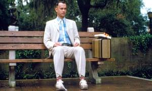 Tom Hanks in Forrest Gump.