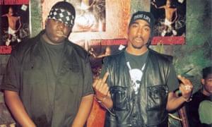 Biggie Smalls and Tupac Shakur.