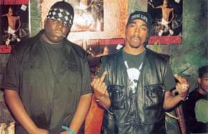 The Notorious BIG and Tupac Shakur