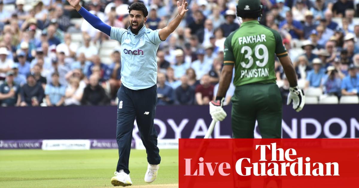 England v Pakistan: third one-day international – live!