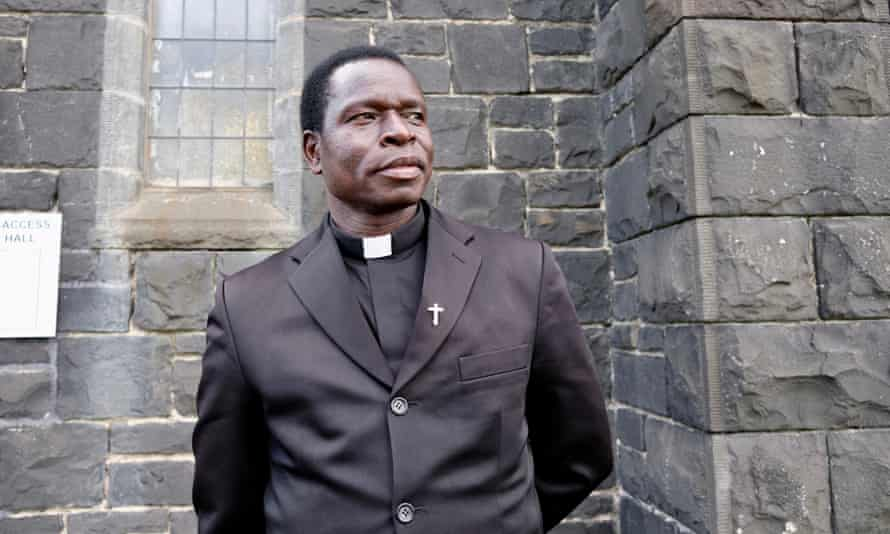 Chaplain Soma was racially abused on the way to the video shoot.
