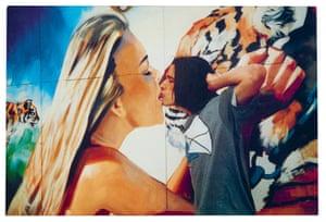 The postcard by Jeremy Deller, Mimesis, 1994.