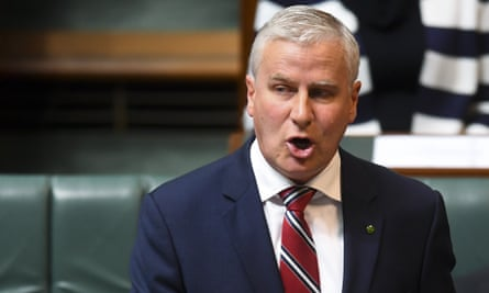 National party leader Michael McCormack