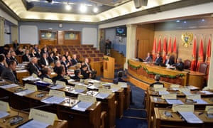 Montenegro's parliament meets in November. The country's potential Nato membership has yet to win approval in the US Senate.