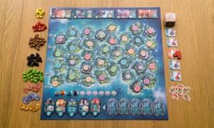 Yamataï board game.