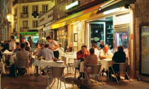 Eating out in Lisbon's Baixa neighbourhood
