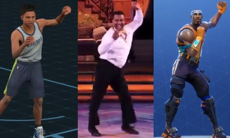 fresh prince actor sues fortnite for use of iconic carlton dance - fortnite floss moving image