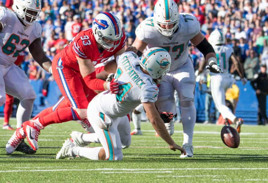 It was just another day in the tank for the Miami Dolphins