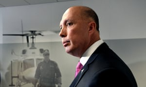 Peter Dutton is the focus of the Senate committee inquiry on Wednesday.