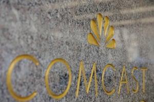 The NBC and Comcast logos.