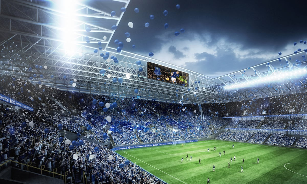 Everton Unveil Plans For 500m New Stadium In Liverpool Docklands Area Football The Guardian