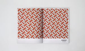 Peter Saville collaborated with Riccardo Tisci to design new Burberry logo and monogram.