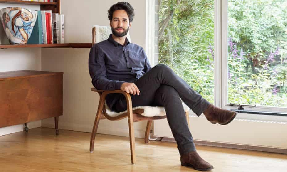 Daniel Susskind at home in London.