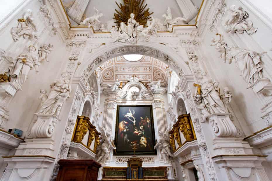 How it could look … the recreated work in Oratorio di San Lorenzo.