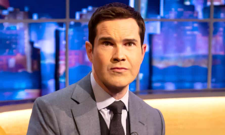 The comedian Jimmy Carr, who has been given a series of increasingly prominent TV gigs following jokes on dwarfism and lesbians.